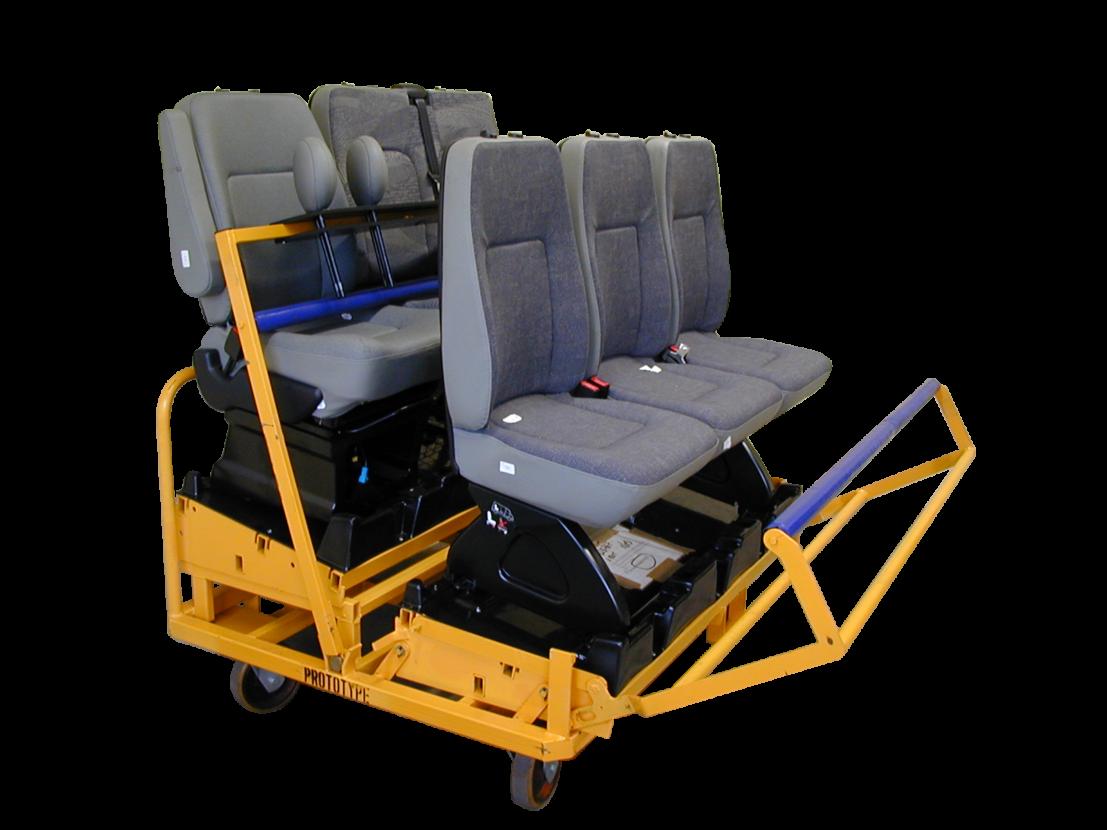 Chariot synchrone pour siège automobile