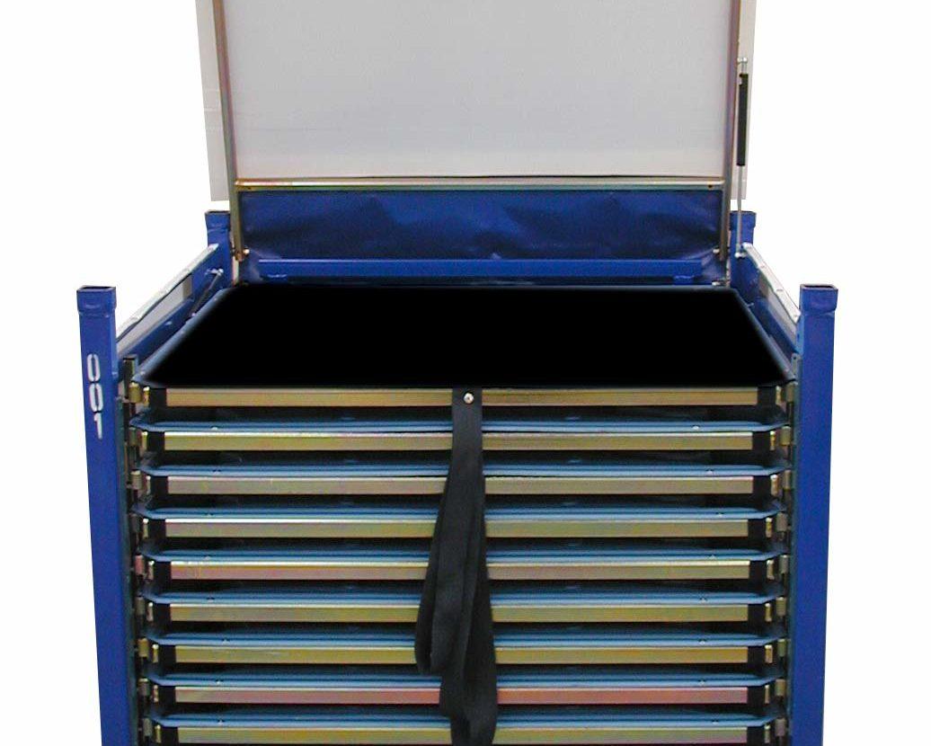Conteneur rigide type portefeuille pour Air Bag de volant