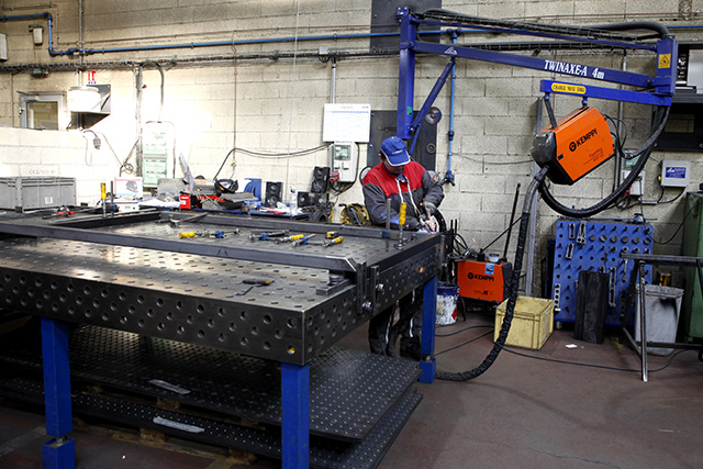 GMI atelier mécano-soudure