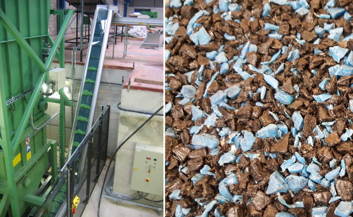 GMI recyclage équipement