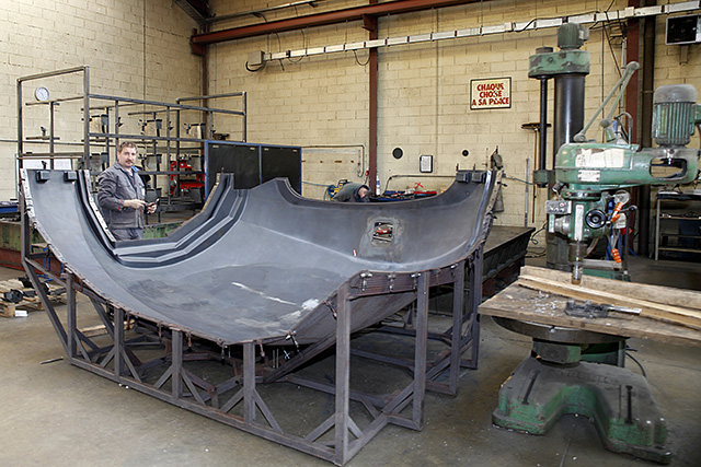 atelier équipement métallurgie