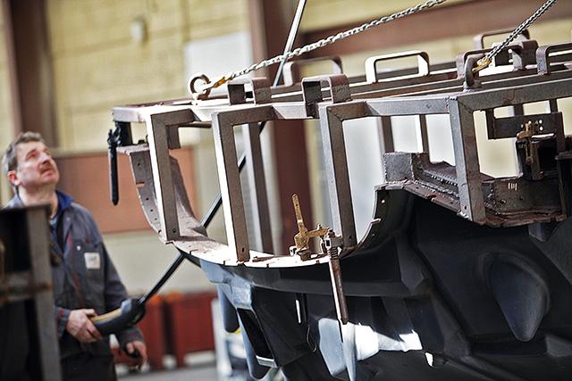 atelier métallurgie