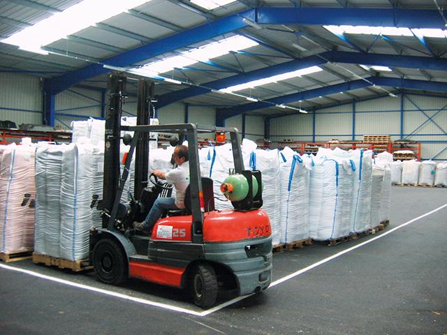 GESTION logistique stockage qualité