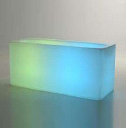 bar plastique lumineux