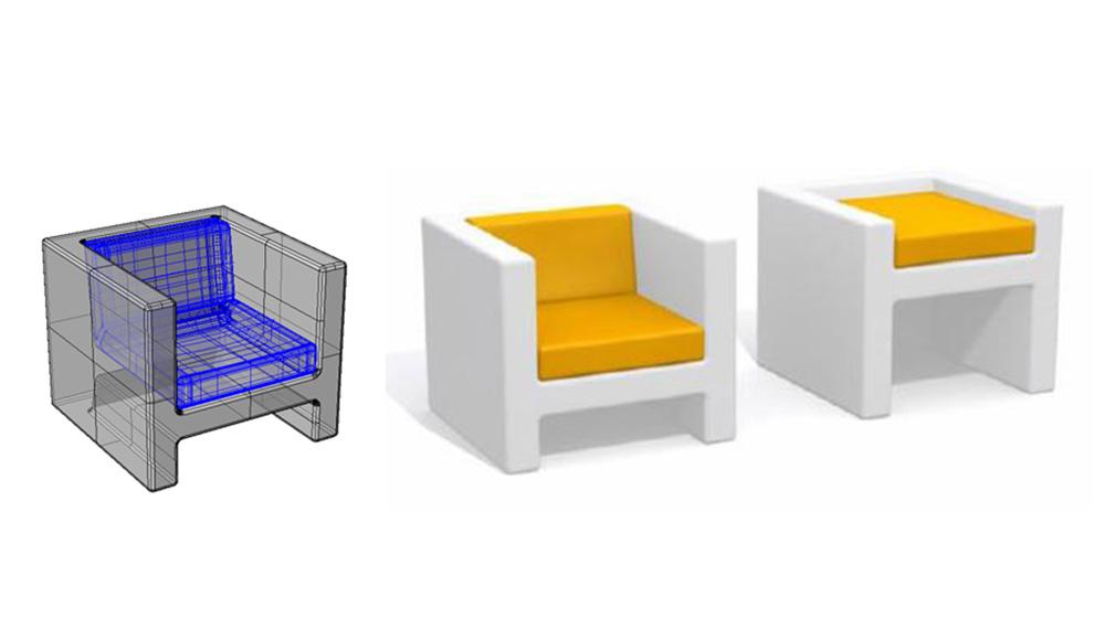 fabricant de mobilier design rotomoulé