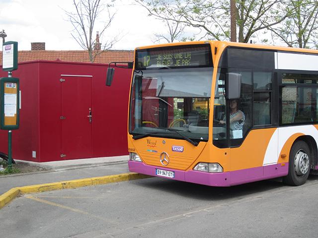 GMI sanitaire bout de ligne bus et tram