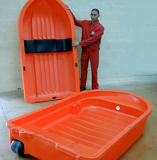 GMI fabricant de barque rotomoulée
