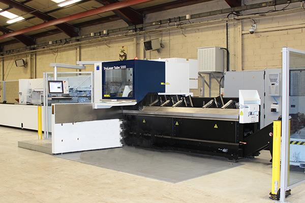 Laser tube- équipement atelier mécano-soudure