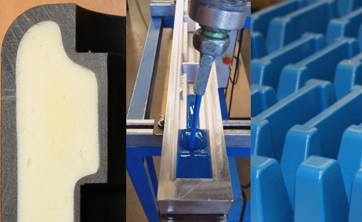 pièces techniques en polyuréthane coulé ou expansé