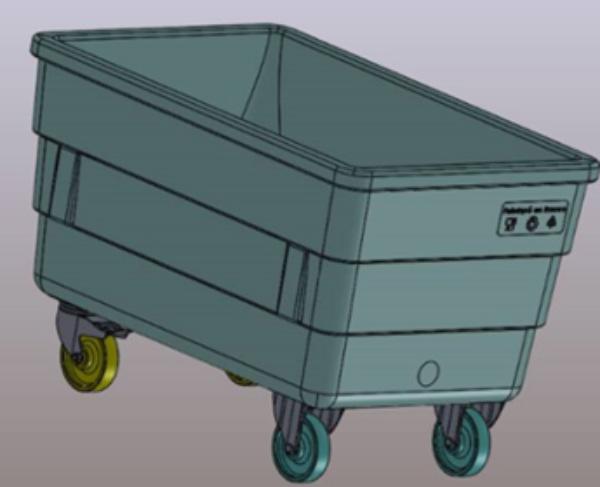 conception de chariot industriel