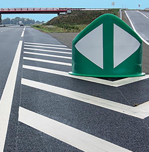 signalisation séparateur de voies